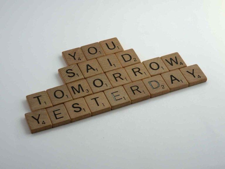 self discipline procrastination