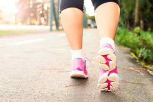 footsteps walking plan for beginners