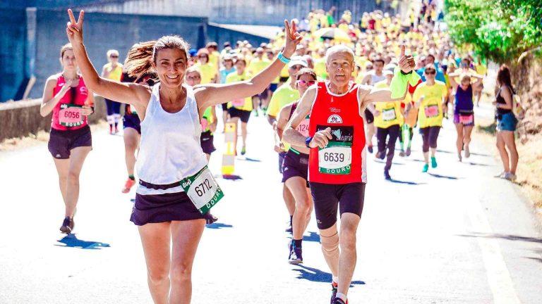 older athletes running