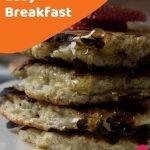 simple protein pancakes recipe pin